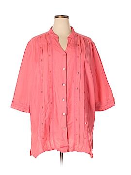 Maggie Barnes 3/4 Sleeve Blouse Size 22 - 24 (Plus)