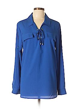 Calvin Klein Long Sleeve Blouse Size XL  (Plus)