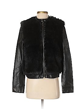 DKNY Jeans Faux Fur Jacket Size S