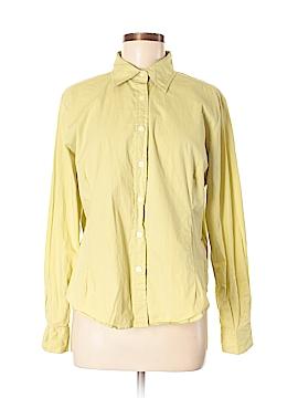 Bill Blass Long Sleeve Button-Down Shirt Size XL