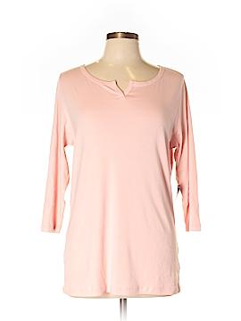 Eddie Bauer 3/4 Sleeve T-Shirt Size L