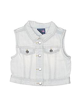 Genuine Baby From Osh Kosh Denim Vest Size 3T