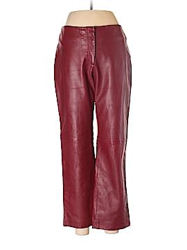 Margaret Godfrey Leather Pants Size 8
