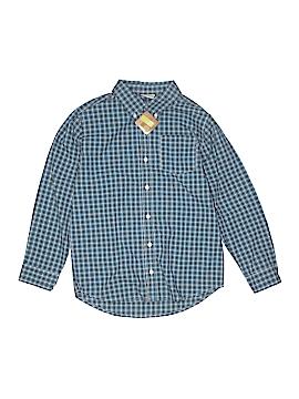 Crazy 8 Long Sleeve Button-Down Shirt Size L (Kids)