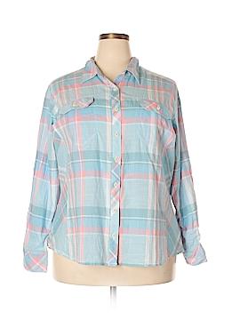 Columbia Long Sleeve Button-Down Shirt Size 2X (Plus)