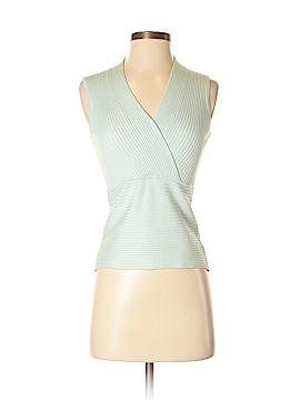 August Silk Sleeveless Silk Top Size S (Petite)
