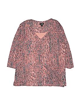 Erika 3/4 Sleeve Top Size 1X (Plus)