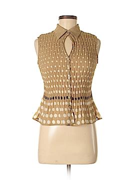 Sunny Leigh Short Sleeve Blouse Size P