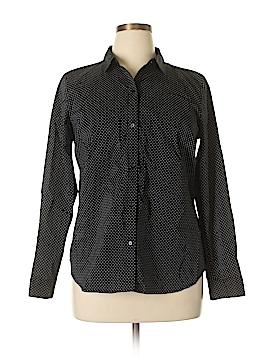 Apt. 9 Long Sleeve Button-Down Shirt Size 16