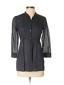 Diane von Furstenberg 3/4 Sleeve Blouse Size 2