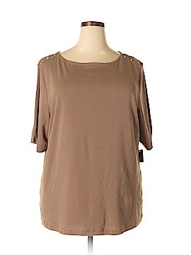 Karen Walker Sleeveless Top Size 3X (Plus)