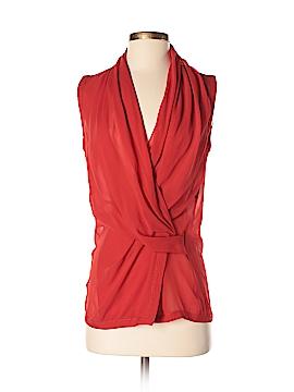 Helmut Lang Sleeveless Silk Top Size P