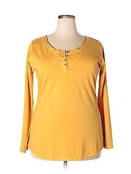 Woolrich Long Sleeve Henley Size XL