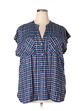 Gap Short Sleeve Button-Down Shirt Size XXL