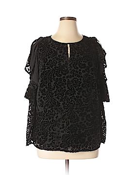 NANETTE Nanette Lepore 3/4 Sleeve Blouse Size 1X (Plus)