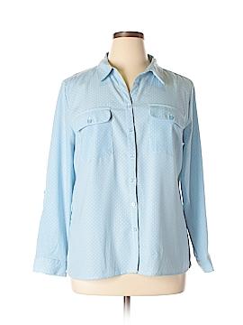 Notations Long Sleeve Button-Down Shirt Size XL