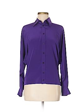 Ralph Lauren Long Sleeve Silk Top Size 6