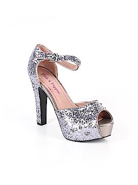 Pink & Pepper Heels Size 8