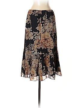 Allison Taylor Silk Skirt Size M