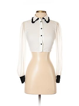Kate Spade New York Long Sleeve Blouse Size 00