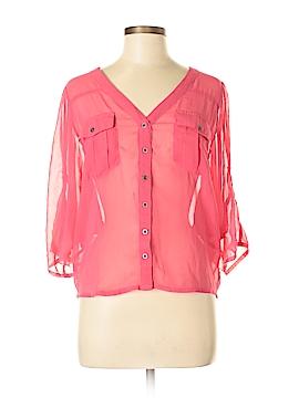 2b bebe Short Sleeve Blouse Size XS