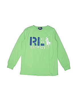 Polo by Ralph Lauren Long Sleeve T-Shirt Size 7