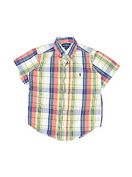 Ralph Lauren Short Sleeve Button-Down Shirt Size 5