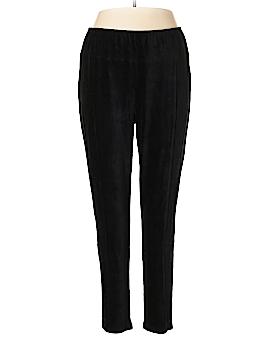 Woman Within Velour Pants Size 18 - 20 (Plus)