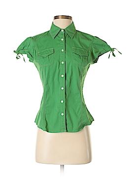 Tommy Hilfiger Short Sleeve Button-Down Shirt Size S (Petite)