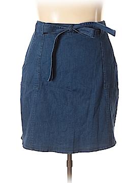 RACHEL Rachel Roy Denim Skirt Size 18 (Plus)
