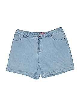 Faded Glory Denim Shorts Size 16W