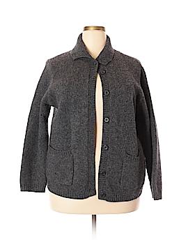 Field Gear Wool Cardigan Size 2X (Plus)