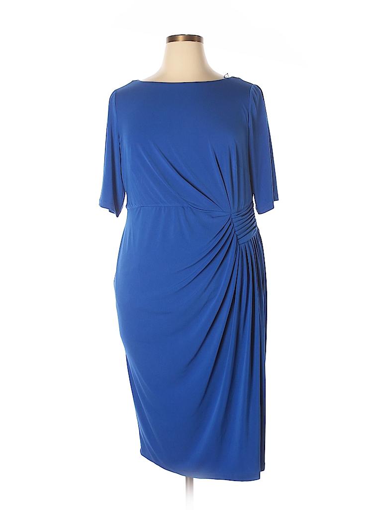 London Times Women Casual Dress Size 14w