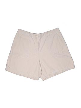 Valerie Stevens Khaki Shorts Size 16