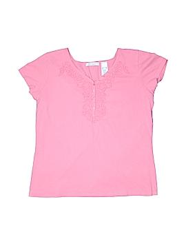 Lizwear by Liz Claiborne Short Sleeve Henley Size XL