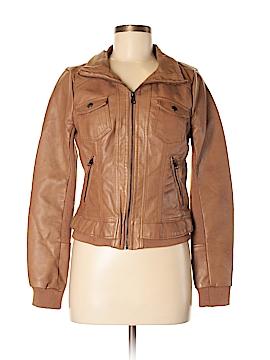 Full Tilt Faux Leather Jacket Size M