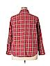 Evan Picone Women Long Sleeve Button-Down Shirt Size 16