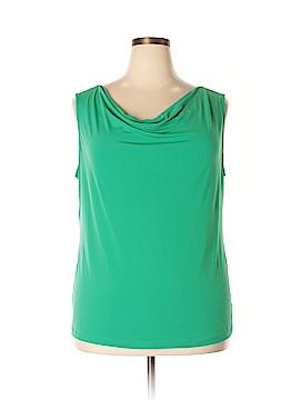 Liz Claiborne Sleeveless Top Size 2X (Plus)