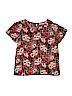 Sag Harbor Women Short Sleeve Blouse Size XL