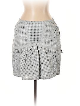 Just Cavalli Leather Skirt Size 40 (IT)