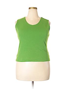 Kim Rogers Sleeveless T-Shirt Size XL (Petite)