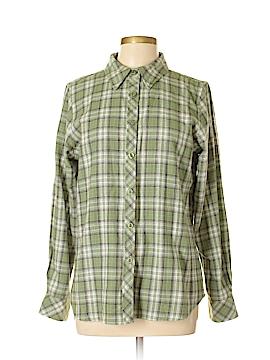 C.E. Schmidt Workwear Long Sleeve Button-Down Shirt Size M