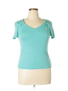 Rafaella Studio Short Sleeve Top Size M