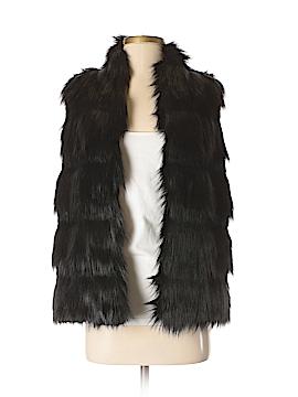 BCBGeneration Faux Fur Vest Size S