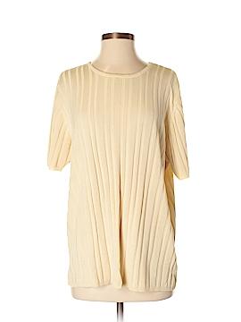 Chaus Short Sleeve Silk Top Size 2