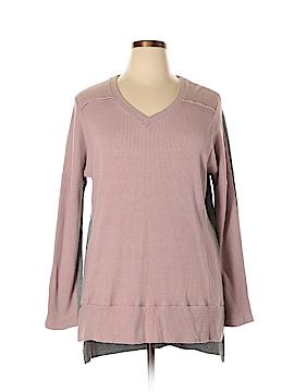 Suzanne Betro Long Sleeve T-Shirt Size 1X (Plus)