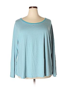 Faded Glory Long Sleeve T-Shirt Size 4X (Plus)