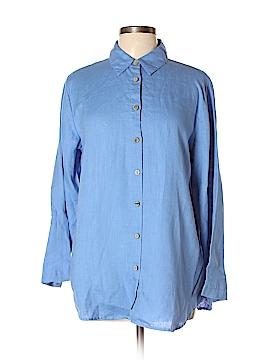 Soft Surroundings Long Sleeve Blouse Size M (Petite)