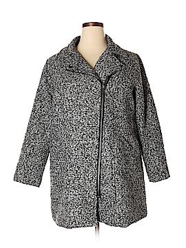 Just Fab Coat Size 1X (Plus)