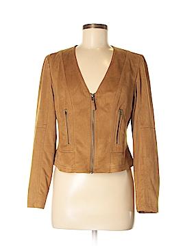 Yest Faux Leather Jacket Size 8